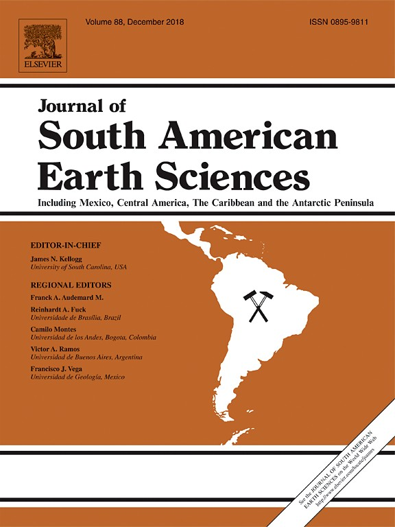 Bauxite formation on Tertiary sediments in the coastal plain of Suriname